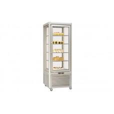 Кондитерский шкаф FrostEmily PRISMA 400 TNV-PQ (+4...+10°С, 680x690x1820 мм, 5 полок)