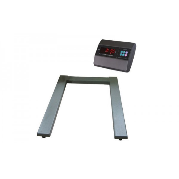 Паллетные электронные весы ЗЕВС ВПЕ-4 Бюджет (1200х800мм) НПВ: 2000 кг