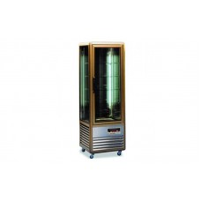 Кондитерский шкаф Tecfrigo Snelle 350 R (+4...+10°С, 595х620х1810 мм, 5 полок), бронза
