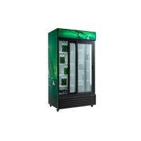 Холодильный шкаф для напитков Scan SD 1001 SL (+2...+10°С, длина 1130 мм, объем 1000 л)