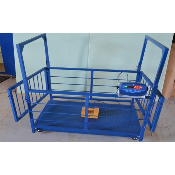 Весы для свиней и поросят TRIONYX  П0712-СК-300 (700х1200 мм, НПВ=300 кг, d=100 г)