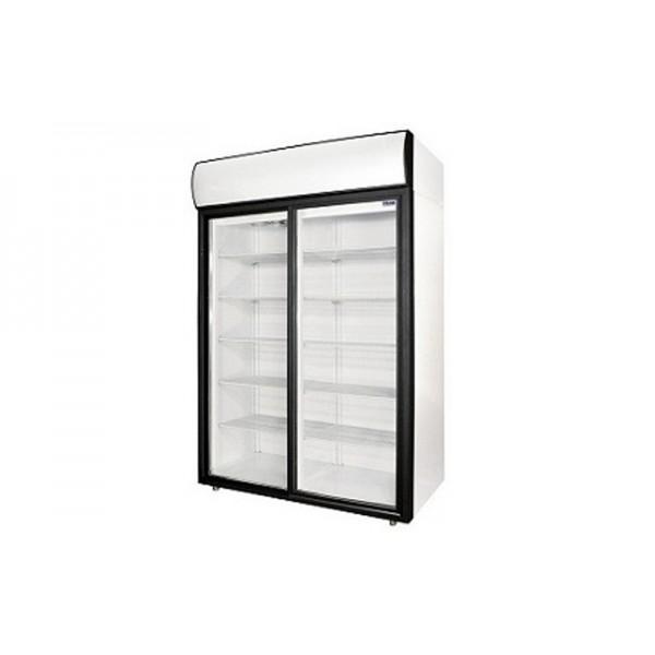 Холодильный шкаф Polair DM 110 Sd-S (+1...+10°С, 1402х620х2028 мм, объем 1000 л)