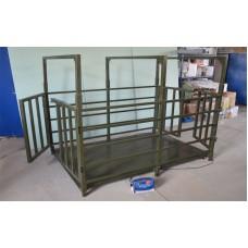 Весы для крупного рогатого скота TRIONYX  П1220-СК-1500 (1250х2000 мм, НПВ=1500 кг, d=500 г)