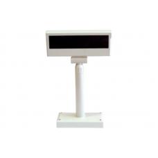Двустрочный индикатор клиента РОS UA LPOS-II-VFD-2029D (RS-232) белый