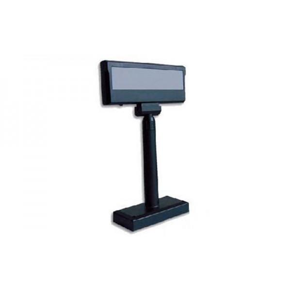 Двустрочный дисплей покупателя РОS UA LPOS-II-VFD-2029D (RS-232) черный
