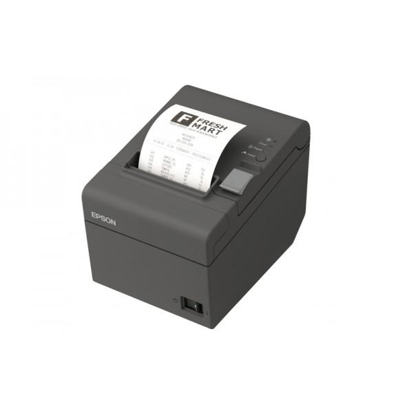 Термопринтер печати чеков EPSON TM-T20 COM с обрезчиком (RS-232) черный