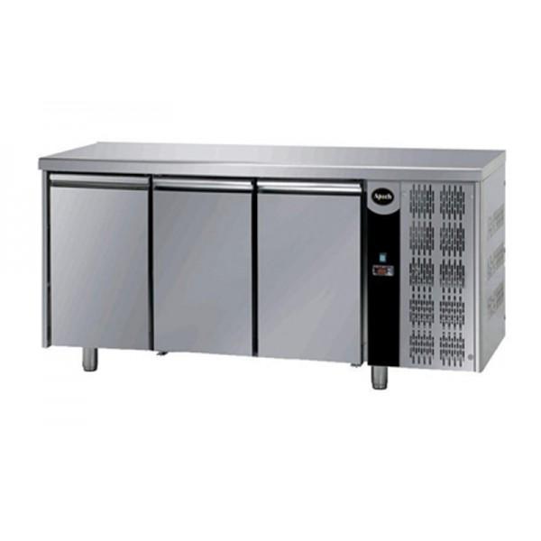 Трехдверный холодильный стол Apach AFM 03 (0 ...+10°C, 1870х700х850 мм)