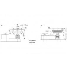 Эластомерная опора HBM HLCB/ZDP; НПВ: 1.76 т
