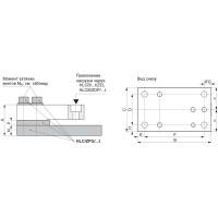 Монтажный комплект HBM HLC/ZPU; НПВ: 2.2 т (гальванизированный материал)