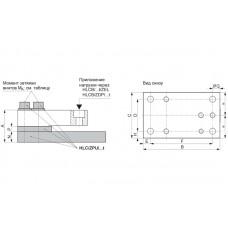 Монтажный комплект HBM HLC/ZPU; НПВ: 4.4 т (гальванизированный материал)