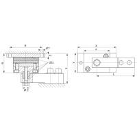 Эластомерная опора HBM HLCB/ZEL; НПВ: 1.76 т