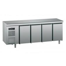 Холодильный стол Sagi KUECM с четырьмя дверцами (0 ...+10°C, 2300х700х900 мм)