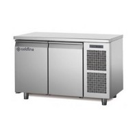 Двухдверный холодильный стол Coldline MASTER TP13/1M (-2...+8°C, 1300х700х850 мм)