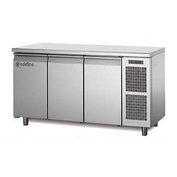 Трехдверный холодильный стол Coldline MASTER TP17/1M (-2...+8°C, 1780х700х850 мм)