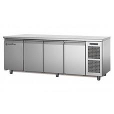 Четырехдверный холодильный стол Coldline MASTER TP21/1M (-2...+8°C, 2260х700х850 мм)