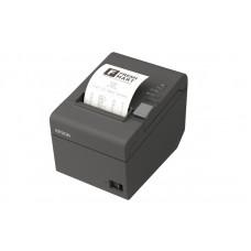 Термопринтер печати чеков EPSON TM-T20 Ethernet с обрезчиком черный