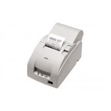 Чековый принтер с обрезчиком EPSON TM-U220A (RS-232) белый