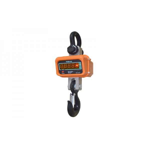 Крановые электронные весы на кран балку TON-3т, НПВ: 3000кг, точность 1 кг