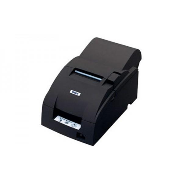 Принтер чеков для магазина EPSON TM-U220A с обрезчиком (LPT) черный + модуль Ethernet