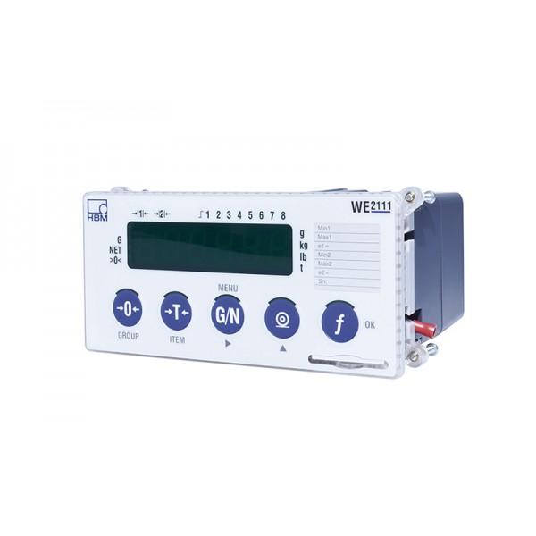 Весовой индикатор HBM WE2111-ZS (съемный модуль 8 цифровых входов или выходов)