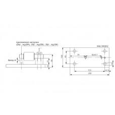 Опорный блок для номинальных нагрузок 5 кг HBM Z6/ZPU/200KG