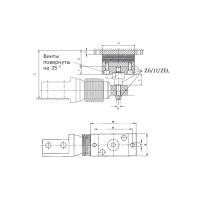 Эластомерная опора HBM Z6/1Т/ZEL