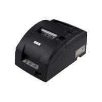 Компактный принтер чеков для склада TM-U220D (RS-232) черный, без обрезчика + модуль Ethernet