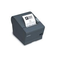 Энергоэкономный термопринтер печати чеков с обрезчиком TM-T88V (USB, RS-232) черный