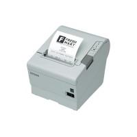 Энергоэкономный принтер для чеков с обрезчиком TM-T88V (USB, RS-232) белый