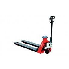Ручная гидравлическая тележка с принтером Skiper SFC20 print 1150PP Profi (2000 кг), длина вил: 1150 мм