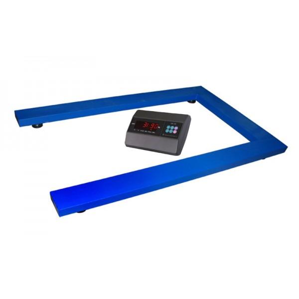 Весы паллетные TRIONYX П0812-ПЛ-1500 A6 до 1500 кг, 800х1200 мм