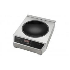 Настольная индукционная плита WOK Hendi Profi Line 3100 239766 с полусферической зоной нагрева