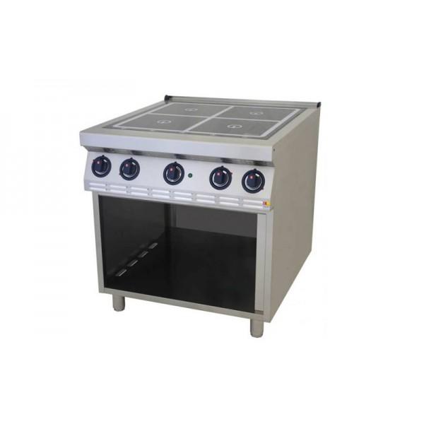 Напольная индукционная плита без духовки Kogast ESI-T47/PB (четыре конфорки)