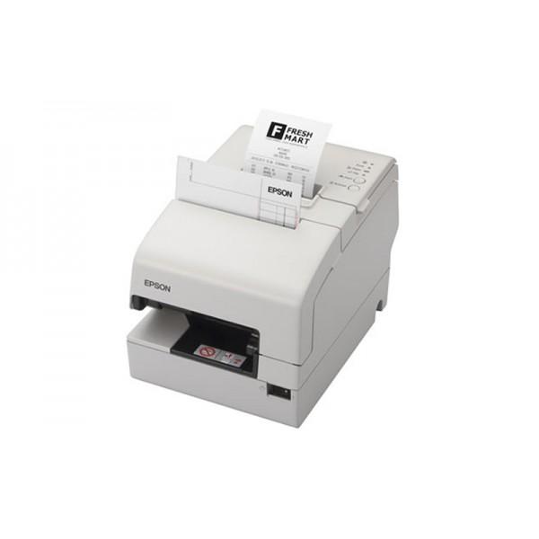 Двухстанционный принтер для чеков с обрезчиком Epson TM-H6000IV (USB, RS-232) белый