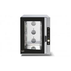 Электрический пароконвектомат Apach AP10D на 10 уровней (встроенная автоматическая мойка)