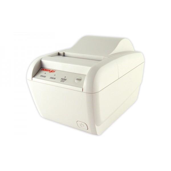 Бюджетный чековый принтер POSIFLEX AURA-6900 USB с обрезчиком (USB, LPT) белый