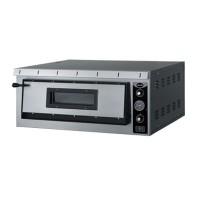 Электрическая печь для пиццы Apach АML4 (одна камера 720х720х140 мм)