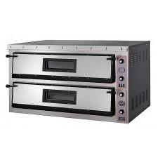 Электрическая печь для пиццы Apach АML44 (две камеры 720х720х140 мм)
