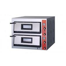 Электрическая печь для пиццы GGF E 44/A (две камеры 610х610х140 мм)
