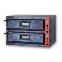 Электрическая печь для пиццы GGF E 66/60A (две камеры  910х610х140 мм)