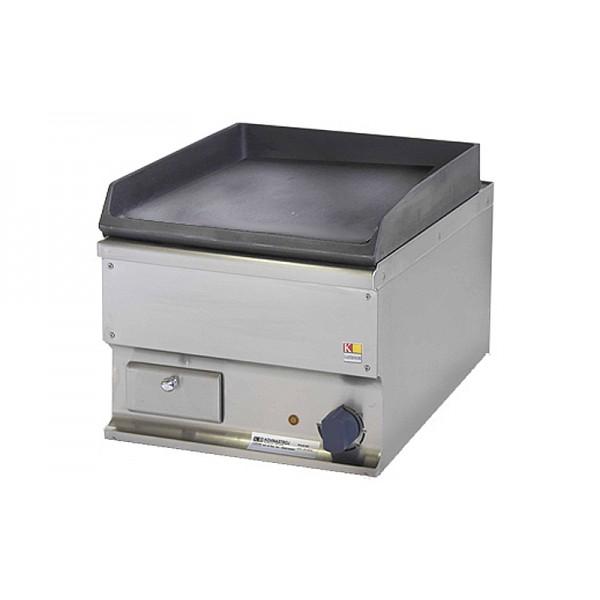 Настольная электрическая жарочная поверхность Kogast EZ-40 L гладкая чугунная, 400х600х340 мм