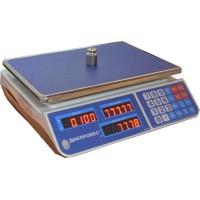 Торговые весы Днепровес ВТД-ЕЛ1 (F902H-3EL1) до 3 кг, точность 0,5 г, светодиодный дисплей