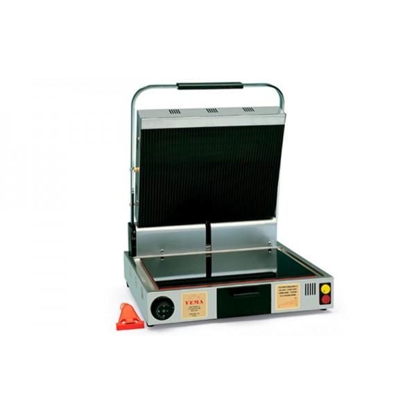Электрический контактный гриль VEMA PV 2070 со стеклокерамической поверхностью