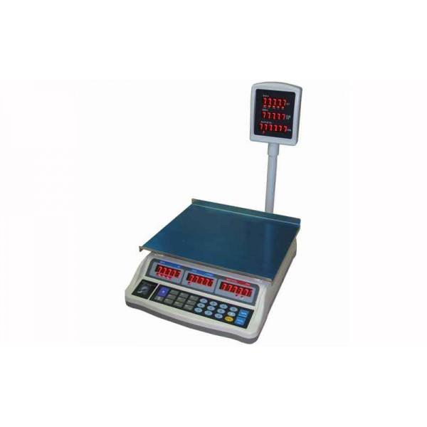 Торговые весы Днепровес (ВТД-ЕЛ) F902H-30E до 30 кг, точность 5 г