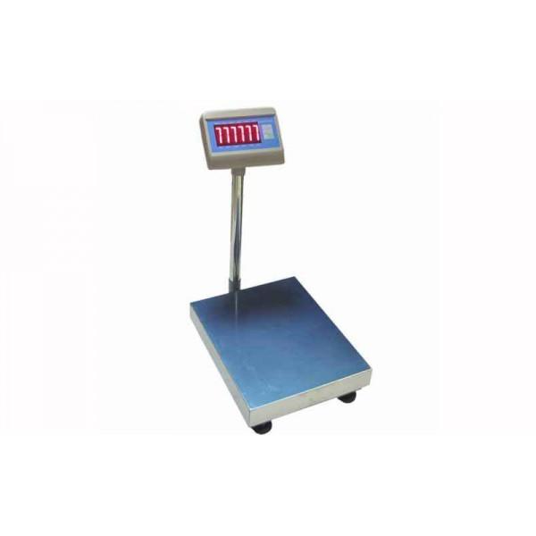 Товарные электронные весы Днепровес ВПД (FS405E-300T) до 300 кг, точность 50 г, 400 х 500 мм