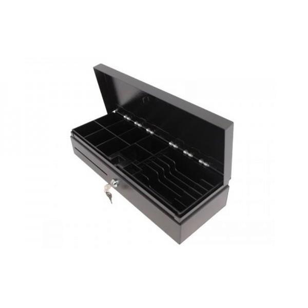 Денежный ящик HPC 460 FT с возможностью транспортировки наличности черный