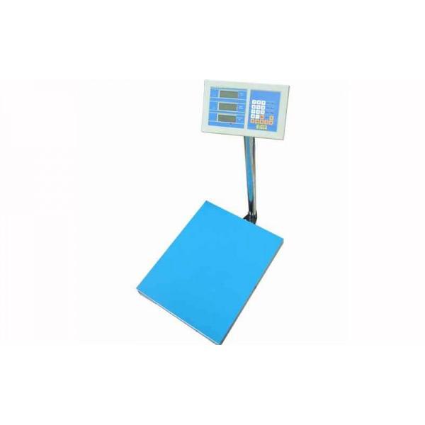 Товарные электронные весы Днепровес ВПД-Д (FS608D-600) до 600 кг, точность 100 г, 600х800 мм