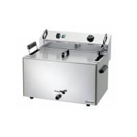 Электрическая настольная фритюрница Bartscher BF 16E для выпечки (одна ванна на 16 л)