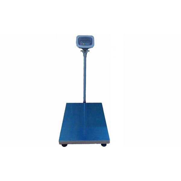 Товарные электронные весы Днепровес ВПД (FS608E-600) до 600 кг, точность 100 г, 600х800 мм