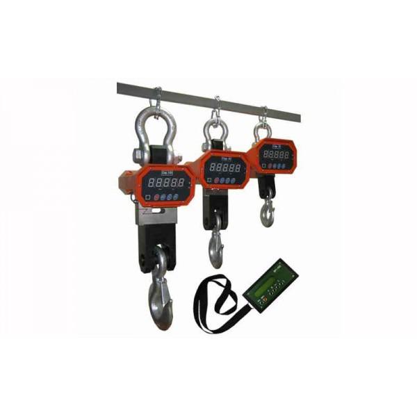 Крановые весы Днепровес OCS-5t-XZC до 5000 кг, точность 2 кг